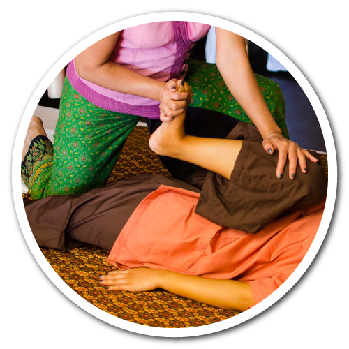 Traditionell Thaimassage